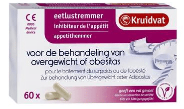 Kruidvat eetlustremmer Bron: www.kruidvat.nl