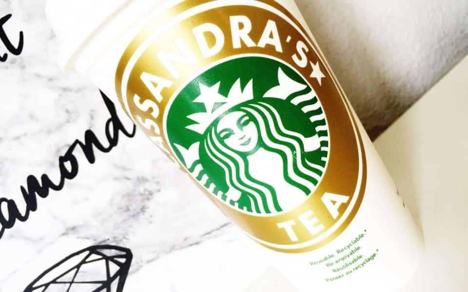 gepersonaliseerde Starbucks beker