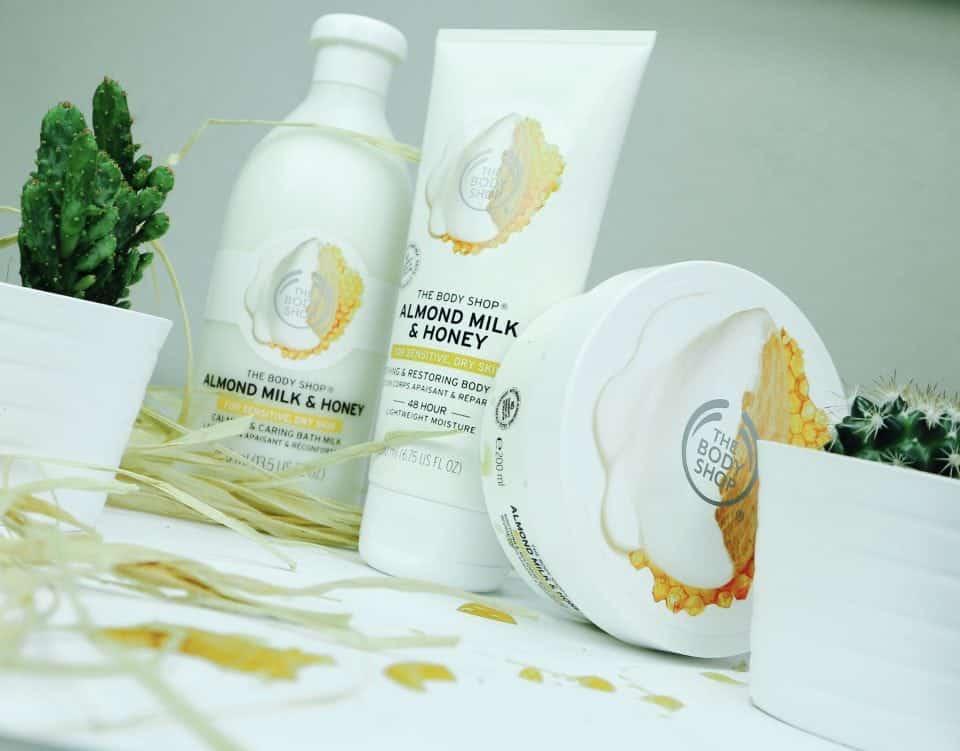 The Body Shop Almond Milk & Honey review