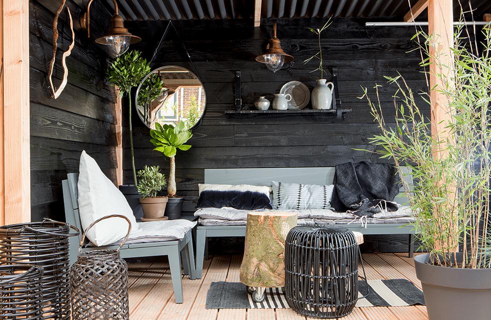 veranda of serre trends Tuin Inspiratie | Welke lounge stijl past bij jou? lounge loungeset Scandinavische tuin, tuinset, tuin