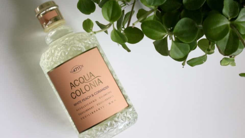 Kölnisch Wasser 4711 ACQUA COLONIA White Peach & Coriander LIME & NUtmeg review parfum