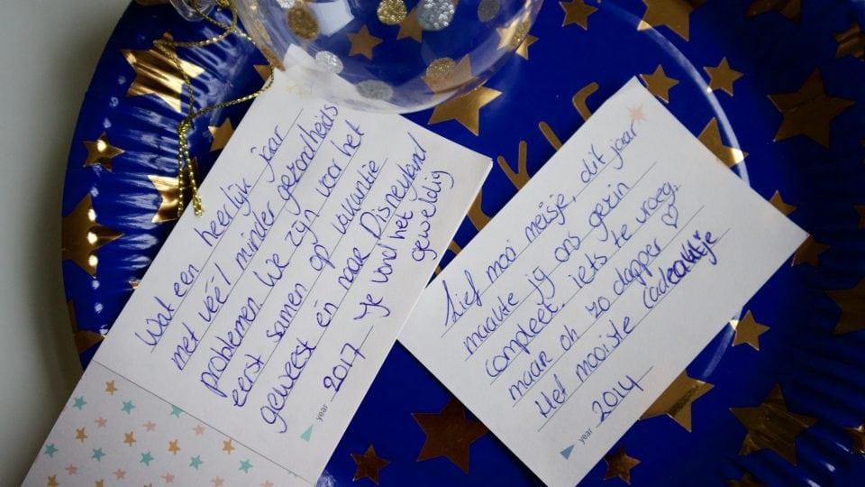 Milestone baby's keepsake ornament mooiste herinneringen van je kind