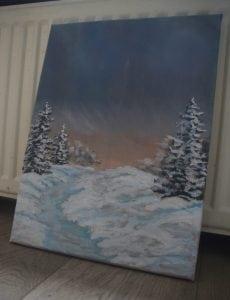 Kerst Schilderij Met Led Verlichting – Tandem K