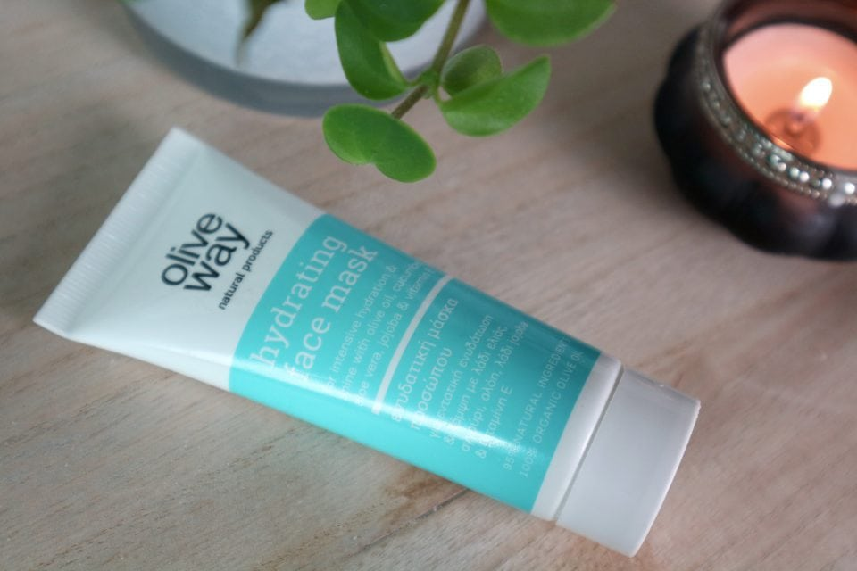 Oliveway Hydrating face mask review momambition