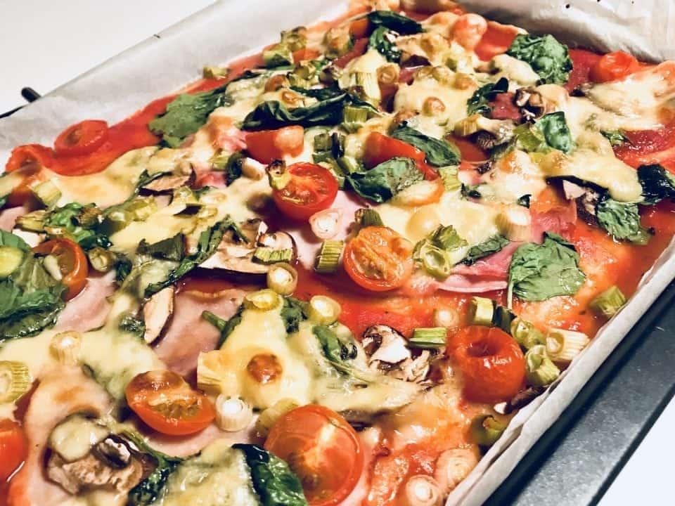 week 6 zelfgemaakte pizza