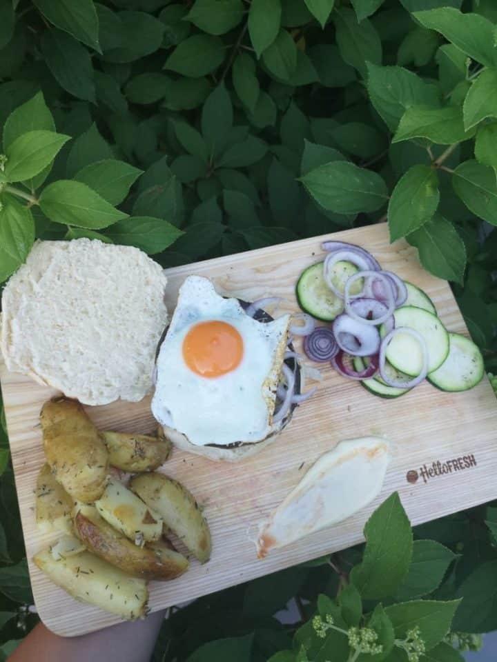 RECEPT | Portobello-burger met gebakken ei momambition.nl