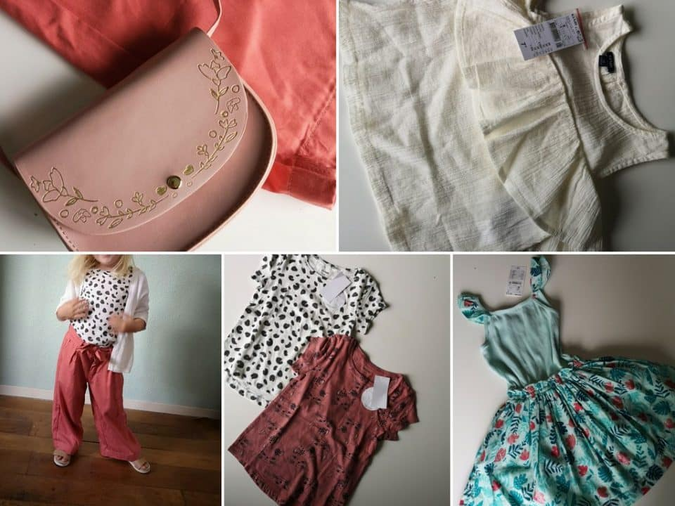 Shoplog: Zomerse garderobe in maat 104 voor Leia Momambition.nl Kiabi kinderkleding budget