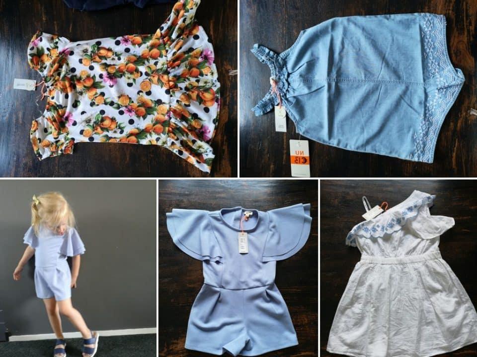 Shoplog: Zomerse garderobe in maat 104 voor Leia Momambition.nl River Island kids