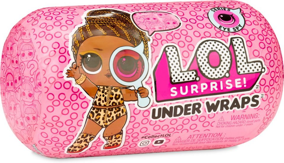 L.O.L. Surprise Eye Spy Series UnderWraps | #8daysofchristmas2018