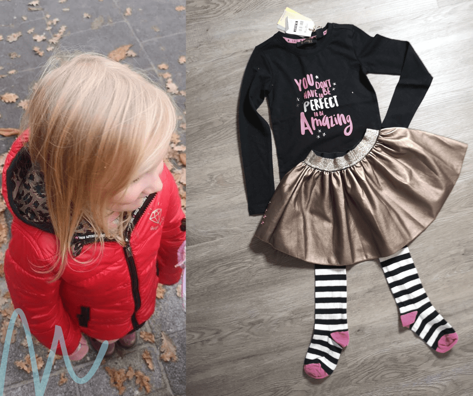 Feestjurkjes voor meisjes momambition.nl mamablog #8daysofchristmasgiveaway reversible winterjas quapi