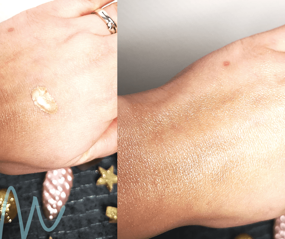 swatches Sleek – Highlighting Elixir Illuminating Drops review | #8daysofchristmas2018 vloeibare highlighter budget beautyblog