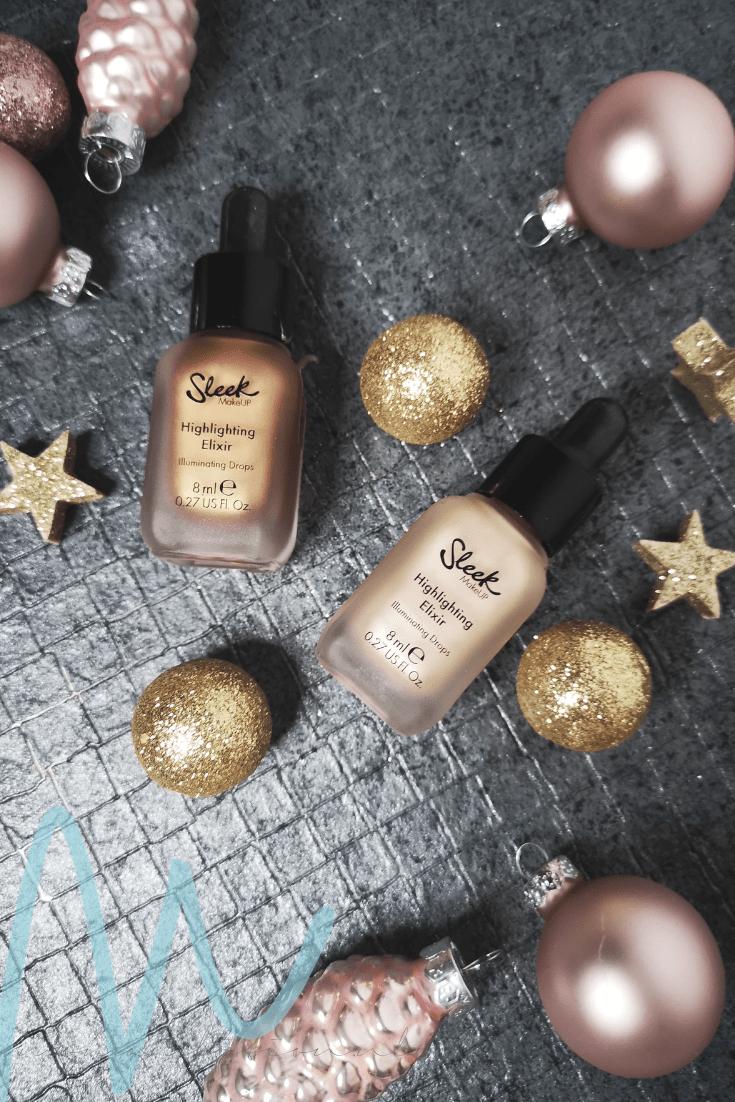 Sleek – Highlighting Elixir Illuminating Drops review | #8daysofchristmas2018 vloeibare highlighter budget beautyblog
