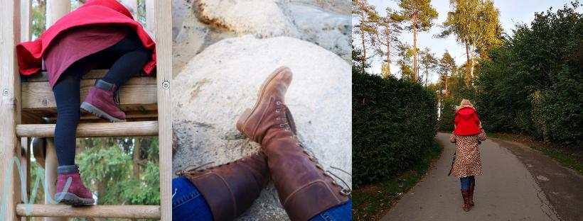 Musthave: Stoere boots voor moeder en dochter momambition.nl Timberland Biker boots
