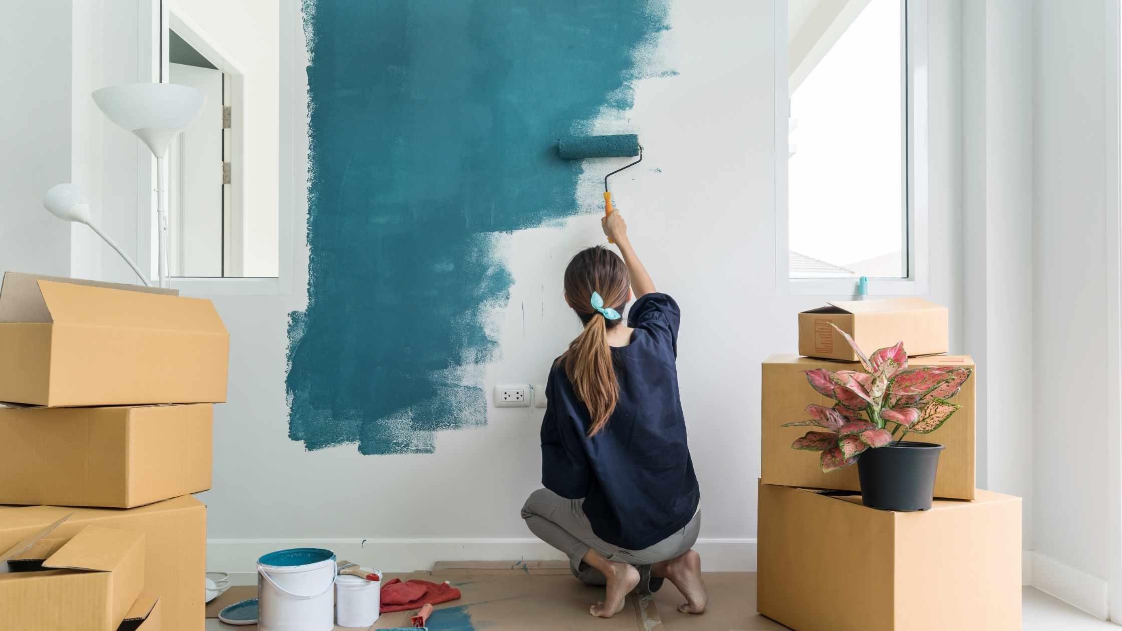 Schilderen in huis Professionele schilder huren