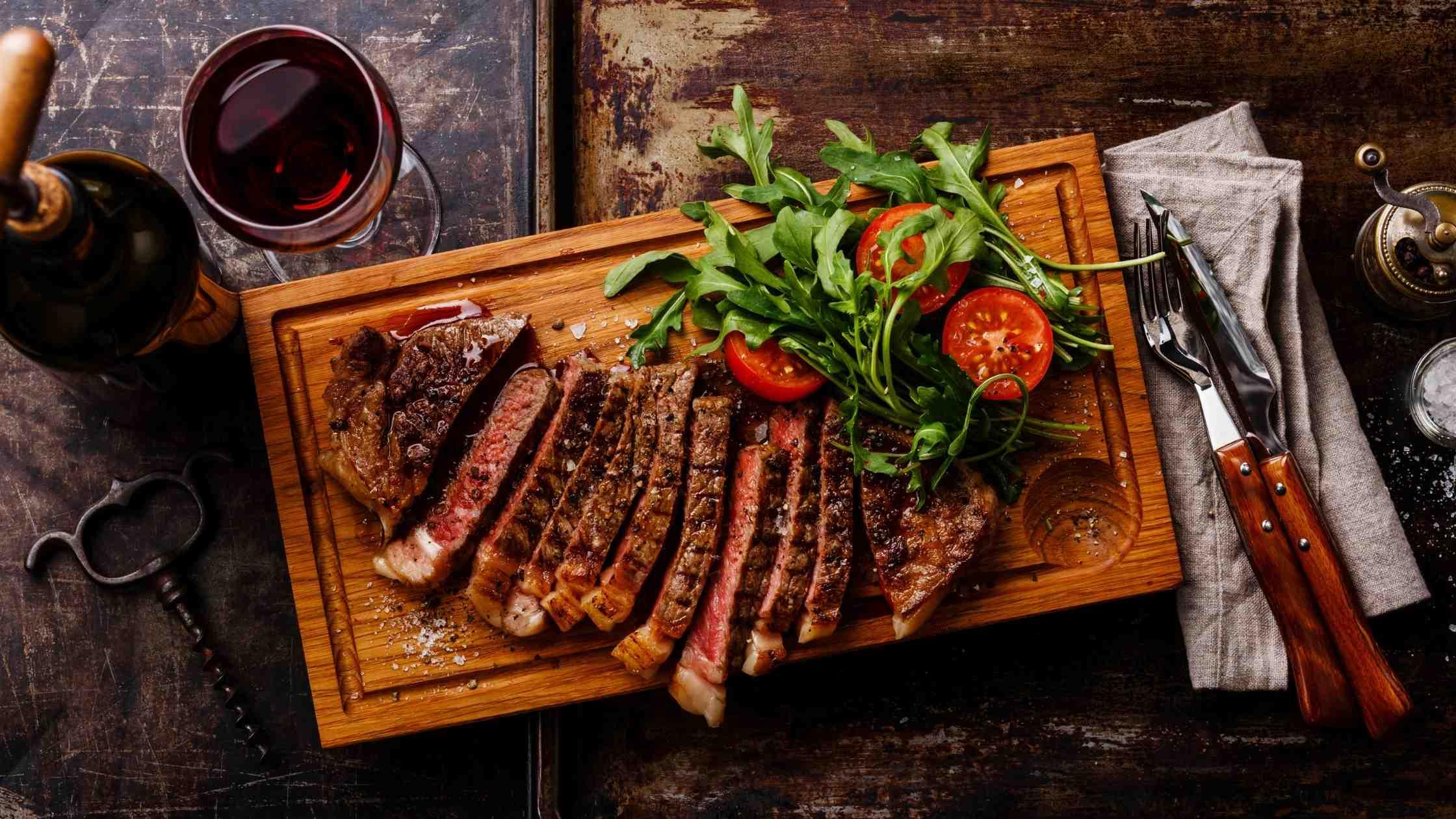 barbecue vlees runder ribben