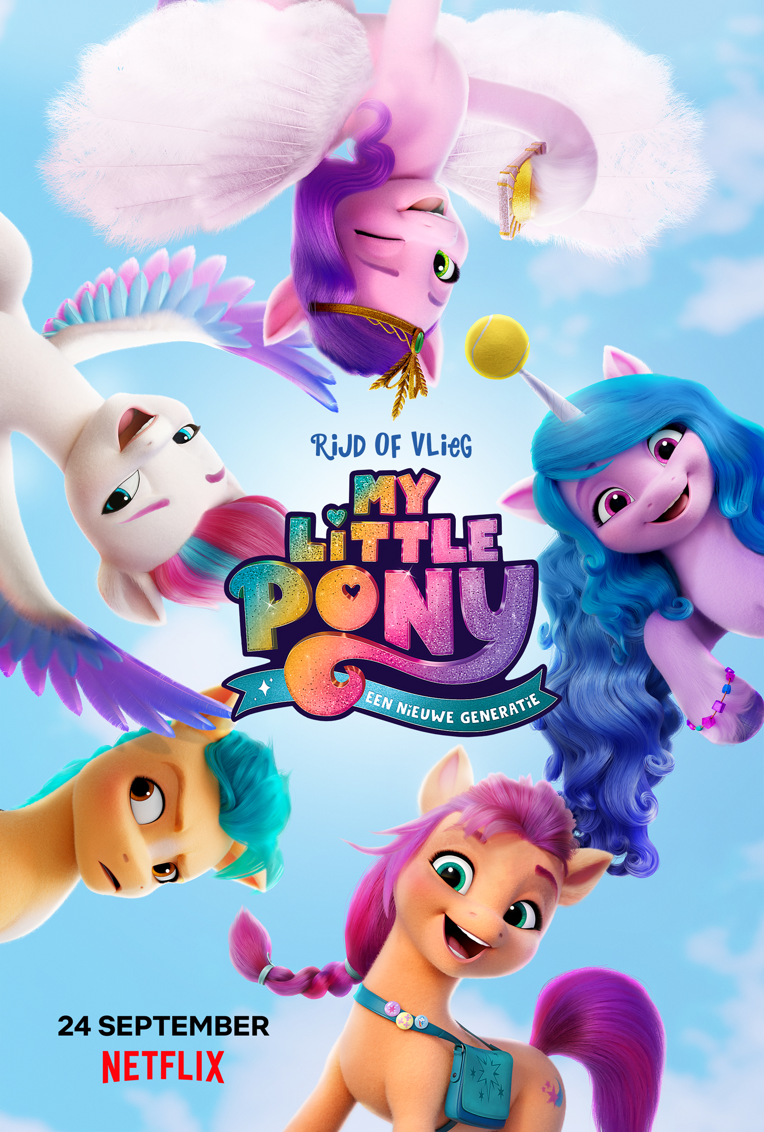 my little pony een nieuwe generatie Netflix