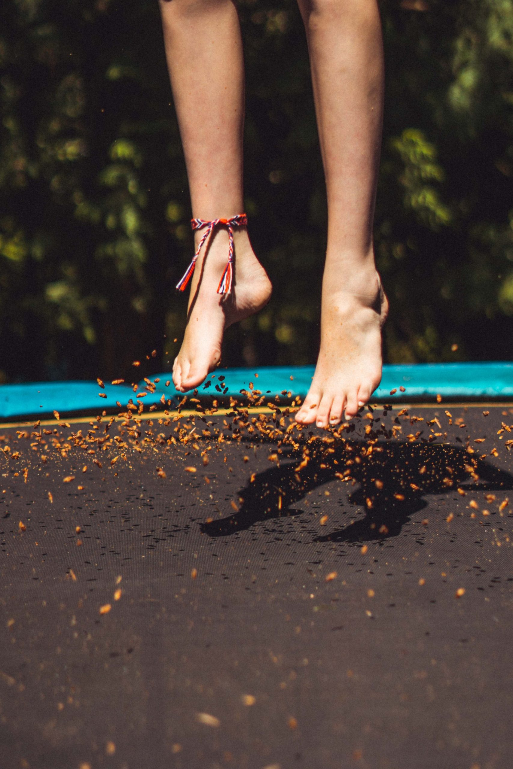 dansend trampoline springen jumping fitness